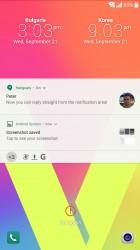 Familiar lockscreen - LG V20 review