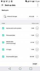LG Backup can also transfer your data between phones - LG V20 review