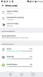 Any battery hogs? - LG V20 review