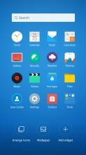 Organizing the homescreen - Meizu MX6 review