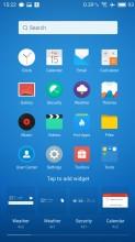 Widgets - Meizu MX6 review