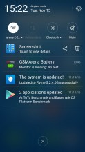 Notification area - Meizu MX6 review