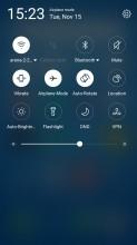 Notification free area - Meizu MX6 review