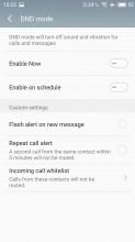 DND mode - Meizu MX6 review