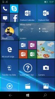 Tile Start Screen - Microsoft Lumia 650 review