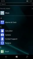 App screen - Microsoft Lumia 650 review