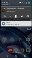 Album art: notification - Moto Z Force Droid Edition Review