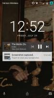 Album art: lockscreen - Moto Z Force Droid Edition Review