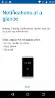 Moto screen options - Motorola Moto G4 Plus review
