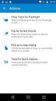 The Moto app lets you tweak the added Moto features - Motorola Moto G4 Plus review
