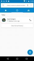 Call log - Motorola Moto G4 Plus review