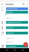 Google Calendar - Motorola Moto G4 Plus review