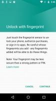 Fingerprint security settings - Motorola Moto G4 Plus review