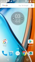Google Now launcher - Moto G4 review