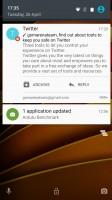 The lockscreen - Motorola Moto X Force review