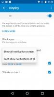 Moto Display notifications - Motorola Moto X Force review