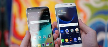 LG G5 vs. Samsung Galaxy S7 edge: Flagship slugfest