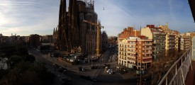 Panorama at Sagrada Familia - MWC 2016 Samsung Galaxy S7 edge