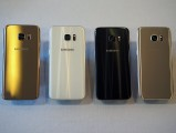 The four color options to be available at launch - MWC 2016 Samsung