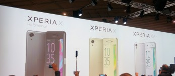 Sony Xperia X, X Performance and XA: Sony at MWC 2016