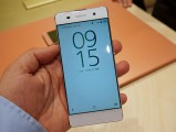 The 5'' 720p screen is still very good - MWC 2016 Sony review
