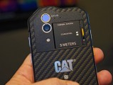 CAT S60 thermal imagining in action - MWC2016 Various Cat S60 review