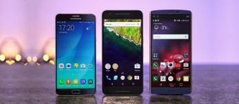 Nexus 6P vs. LG V10 vs. Galaxy Note5: Jumbo joust