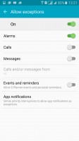 Do not disturb - Samsung Galaxy A7 (2016) review