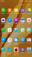 App drawer - Samsung Galaxy A9 (2016) review