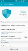 KNOX security manager - Samsung Galaxy A9 (2016) review