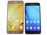 Samsung Galaxy C5 next to the bigger C7 - Samsung Galaxy C5 review