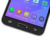 Samsung Galaxy J3 (2016) front - Samsung Galaxy J3 (2016) review