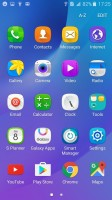 App drawer and pre-installed apps - Samsung Galaxy J3 (2016) review