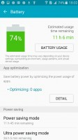 Battery use - Samsung Galaxy J3 (2016) review