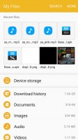 My Files - Samsung Galaxy J5 2016  review