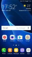 Homescreen - Samsung Galaxy J7 2016 review