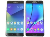 Samsung Galaxy Note7 (left) and Galaxy Note5 (right) - Samsung Galaxy Note7 review