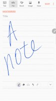 Writing a note - Samsung Galaxy Note7 review