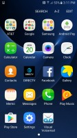 All app fit in one app drawer page - Samsung Galaxy S7 Active review