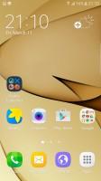 Homescreen - Samsung Galaxy S7 Edge review