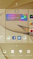 Homescreen settings - Samsung Galaxy S7 Edge review