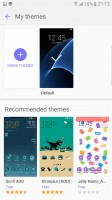 Themes - Samsung Galaxy S7 Edge review