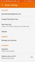 Google Play Music - Samsung Galaxy S7 Edge review