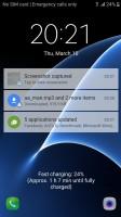 Lockscreen - Samsung Galaxy S7 review