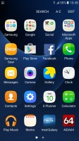 App drawer - Samsung Galaxy S7 review