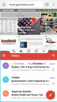 Split-screen mode - Samsung Galaxy S7 review