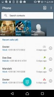 Call log - Sony Xperia E5  review