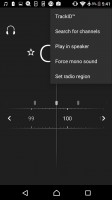 FM Radio with RDS and track recognition - Sony Xperia E5  review