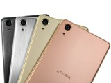 different finish on the rear panel - Sony Xperia X Performance review