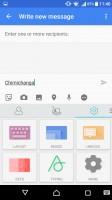 Customizeable SwiftKey keyboard - Sony Xperia X Performance review